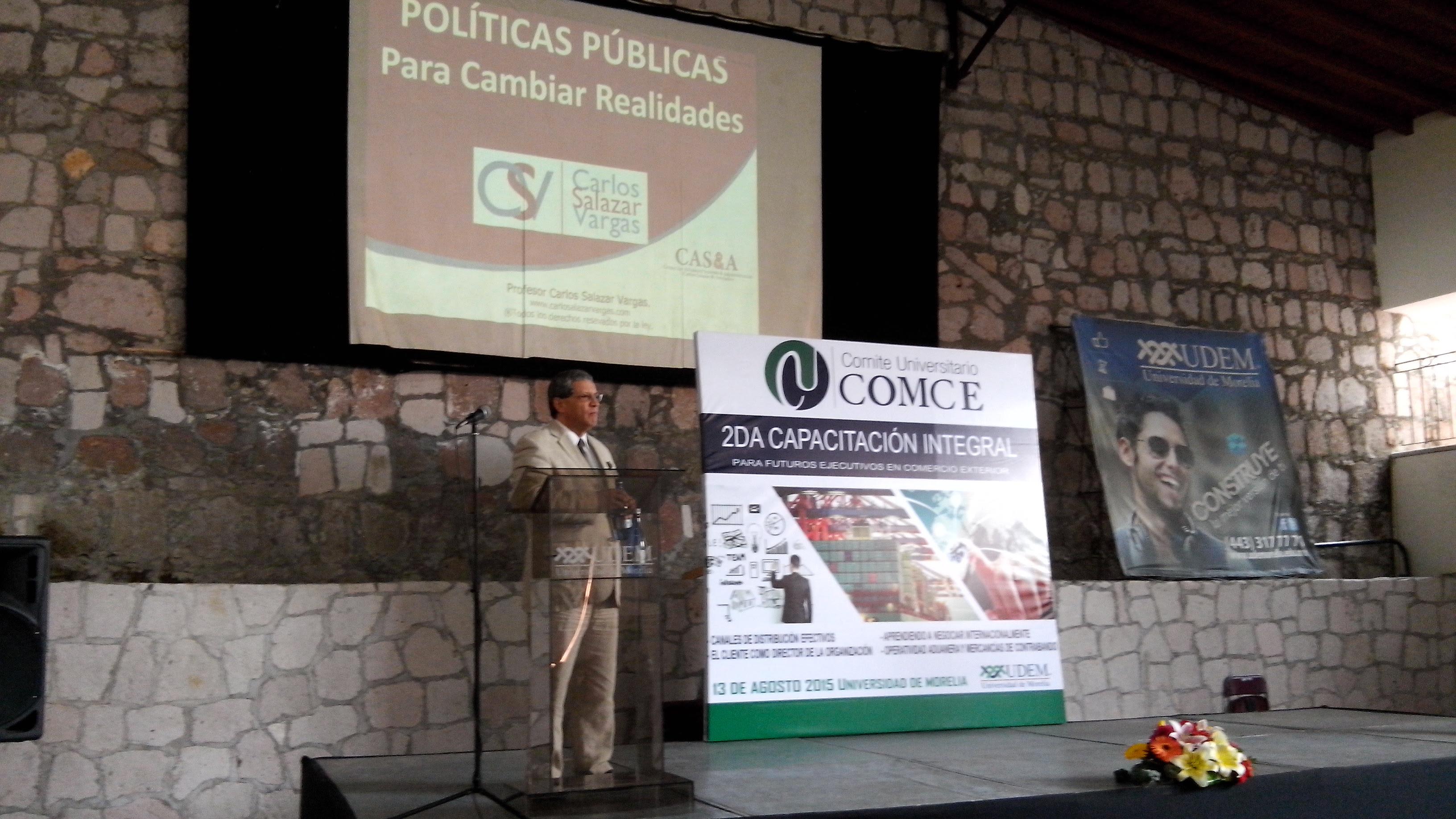 Uvaq Participa Con El Comce En La Especializaci N De Comercio Exterior Quadrat N Michoac N