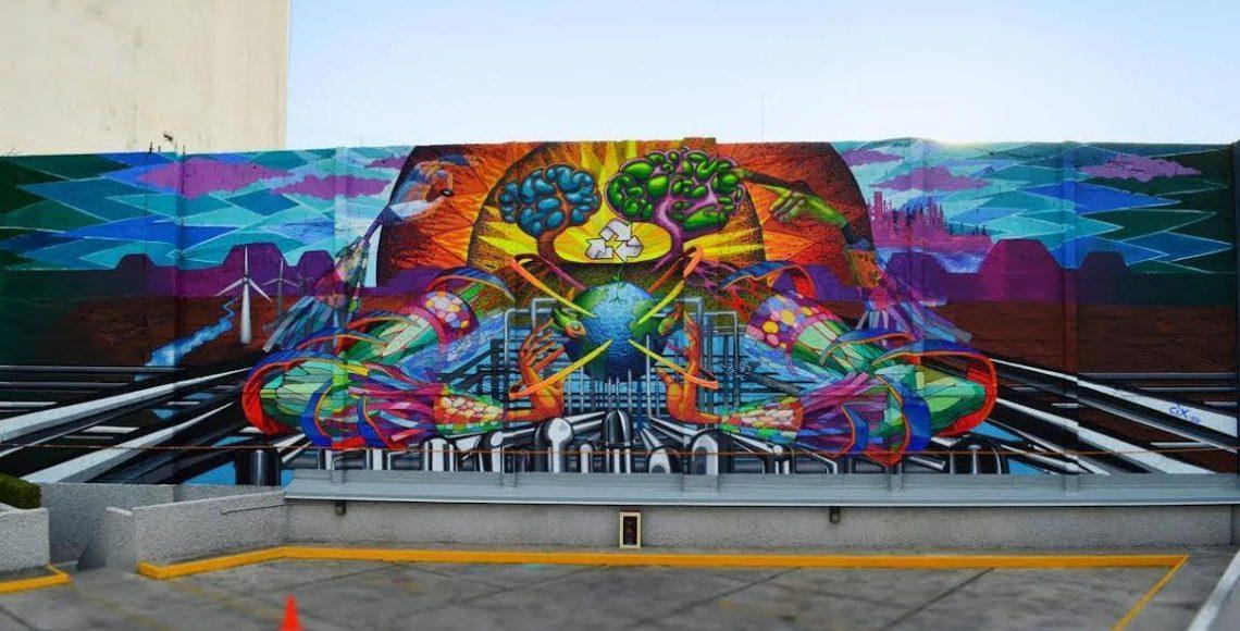 grafiti-dubái