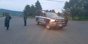 policía Michoacán-carretera