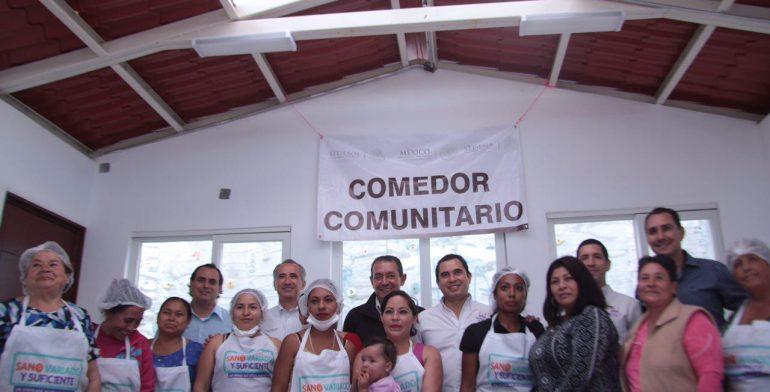 Inauguran comedor comunitario en morelia quadrat n michoac n for Proyecto social comedor comunitario