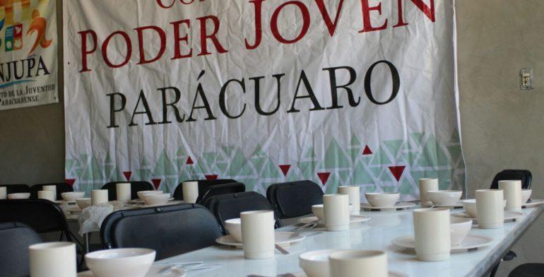 Inauguran comedor comunitario poder joven quadrat n for Proyecto social comedor comunitario