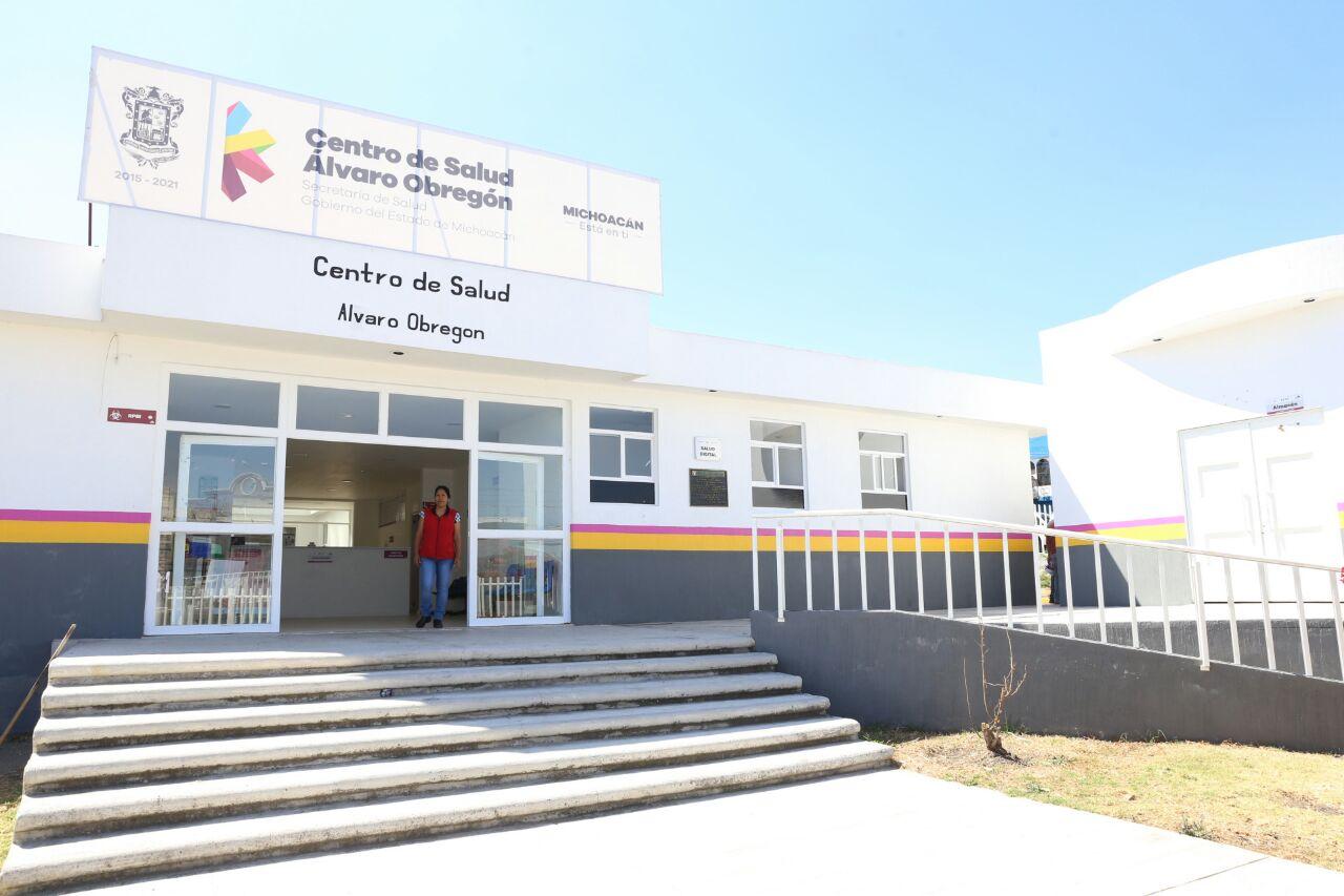 Suman 130 los centros de salud dignificados y modernizados - Centro de salud aravaca ...