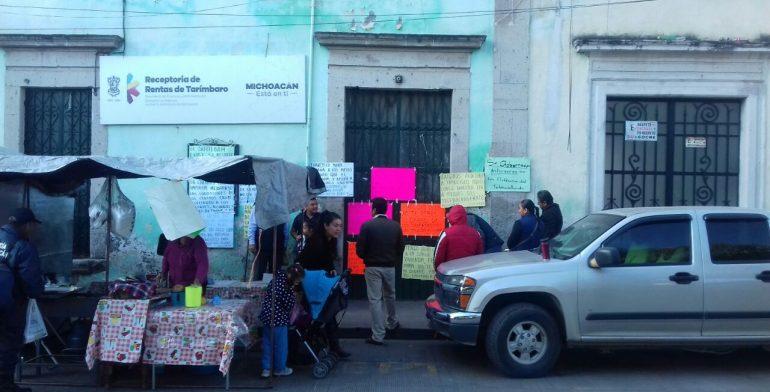 Suttebam toma oficinas de recaudaci n en michoac n acusan for Oficina recaudacion