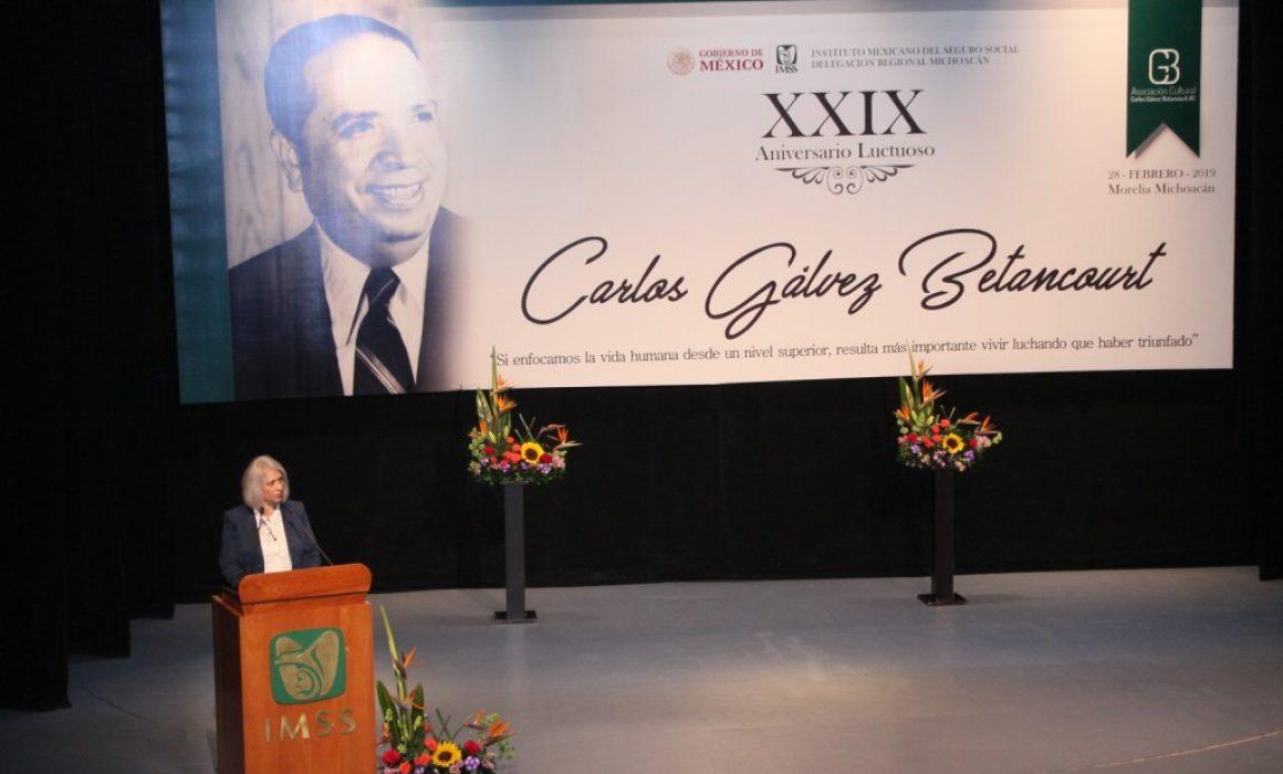 Conmemoran Aniversario Luctuoso De Carlos Gálvez En El Imss