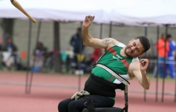 Gana Mario Santana plata y plaza en mundial de Para Atletismo - Quadratín Michoacán