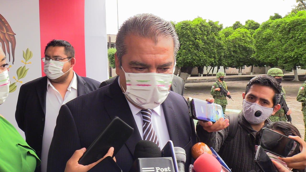 Aún sin fecha eventual licencia de Morón para buscar candidatura - Quadratín