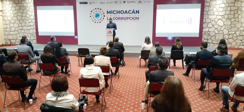 Michoacán da pasos contundentes en lucha contra la corrupción: Silvano - Quadratín