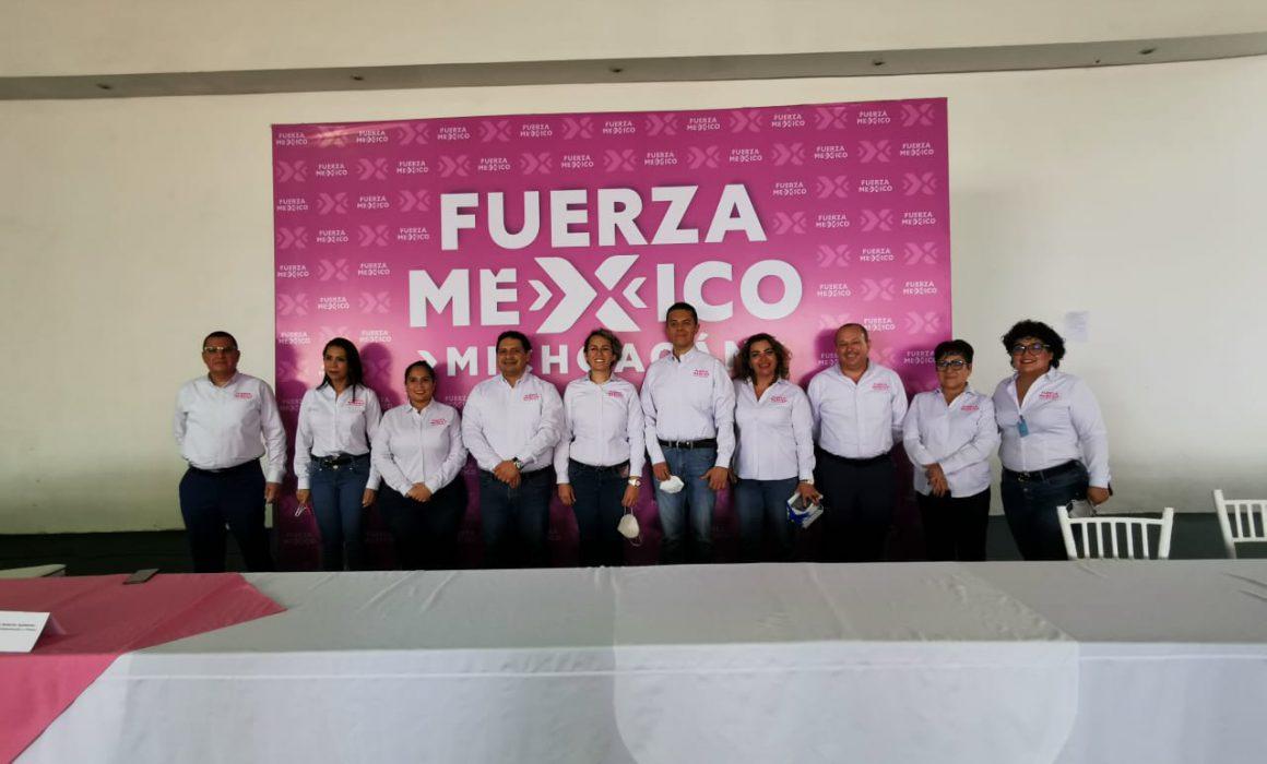 Rinde protesta Directiva Estatal del Partido Fuerza por México - Quadratín