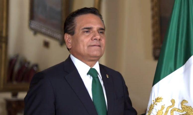 Da Silvano último Grito como gobernador de Michoacán
