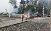 Michoacán, cerca de acumular 100 días de bloqueo en vías férreas